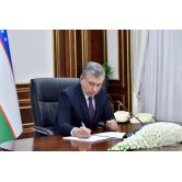 Shavkat Mirziyoyev signed a document regarding the payment of salaries, pensions and stipends