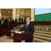 ADDRESS BY SHAVKAT MIRZIYOYEV AT THE JOINT SESSION OF THE CHAMBERS OF OLIY MAJLIS DEDICATED TO A SOLEMN CEREMONY OF ASSUMING THE POST OF THE PRESIDENT OF THE REPUBLIC OF UZBEKISTAN