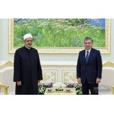 The President of the Republic of Uzbekistan received the Grand Imam of Egypt, the head of Al-Azhar complex