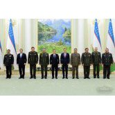 President of the Republic of Uzbekistan met with CIS member states' defense departments' heads