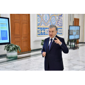 President of Uzbekistan got acquainted with the concept of development of road transport infrastructure in Tashkent