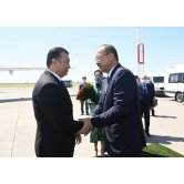 Government delegation of Tajikistan arrives in Uzbekistan