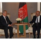 MEETING WITH THE PRESIDENT OF AFGHANISTAN