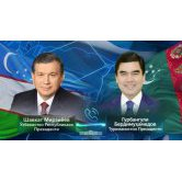 On telephone conversation of the President of the Republic of Uzbekistan with the President of Turkmenistan