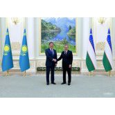 Shavkat Mirziyoyev receives the Prime Minister of Kazakhstan