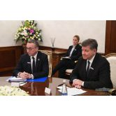 President of the Republic of Uzbekistan receives the Director-General of the International Labour Organization