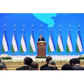 """Our people are great and wise"", says Shavkat Mirziyoyev"