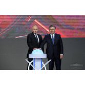 Presidents of Uzbekistan and Russia launched Nuclear Power Station construction project