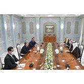 The President of Uzbekistan received Saudi Arabian Minister of Investment