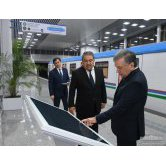 THE FIRST STOPS OF THE TASHKENT METRO ARE OVER