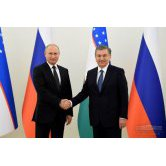 Negotiations between the Presidents of Uzbekistan and Russia has begun