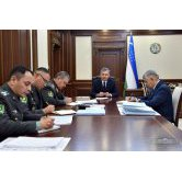 Issues of defense construction and development of the Armed Forces are considered