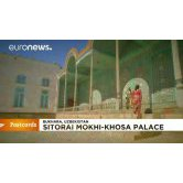 BUKHARA'S MAJESTIC PALACE ON EURONEWS