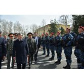 PRESIDENT BECAME FAMILIAR WITH ACTIVITIES OF THE CENTRAL MILITARY DISTRICT'S OFFICE