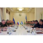 Meeting at the Ministry of Defense