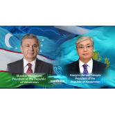Presidents of Uzbekistan and Kazakhstan speak over the phone
