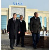 A NEW RAILWAY LINE AND A RAILWAY STATION ARE OPENED IN KHOREZM