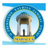 MAHALLA: CAPACITY BUILDING, CREDIBILITY BOOSTING, PERFECTION