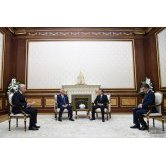 The President of Uzbekistan receives LUKOIL chief