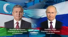 Presidents of Uzbekistan and Russia discussed preparations to the CIS summit due this December in videoconference format