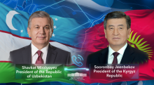 Presidents of Uzbekistan and Kyrgyzstan speak over the phone