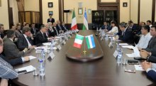 NEGOTIATIONS WITH ITALIAN BUSINESS REPRESENTATIVES