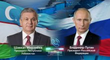 President of Uzbekistan holds a phone call with President of Russia