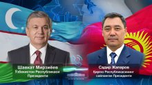 The President of Uzbekistan sincerely congratulated Sadyr Zhaparov on his convincing victory in the presidential elections