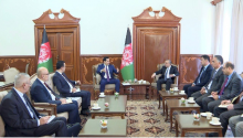 Uzbekistan's Deputy Prime Minister meets with the First Vice President and Head of the Administration of the President of Afghanistan