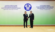 Uzbekistan's President meets with the President of Turkmenistan