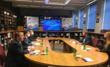 Deputy Minister of Foreign Affairs of Uzbekistan has met with the Director of the National School of Public Administration (KSAP) of Poland