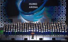 Address by the President of the Republic of Uzbekistan Shavkat Mirziyoyev at the solemn ceremony of opening of Multifunctional ice complex «Humo Arena»