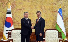 PRESIDENTS OF UZBEKISTAN AND SOUTH KOREA HELD NEGOTIATIONS IN A NARROW FORMAT