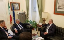 Abdulaziz Kamilov meets with Diplomatic Advisor to Italy's Prime Minister