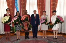 MINISTER CONGRATULATED AMBASSADORS ON THE HOLIDAY