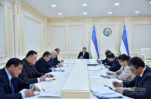 SHAVKAT MIRZIYOYEV: NO ATTENTION IS PAID TO PRODUCTION OF MEDICINAL SUBSTANCES