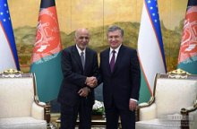 Presidents of Uzbekistan and Afghanistan hold negotiations