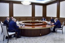 PRESIDENT OF UZBEKISTAN RECEIVES MINISTER OF FINANCE OF RUSSIA