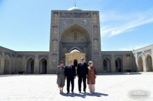 Heads of states visited Bakhauddin Naqshband mausoleum
