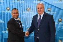 FOREIGN MINISTER RECEIVES SPECIAL RAPPORTEUR OF THE UN COUNCIL ON HUMAN RIGHTS