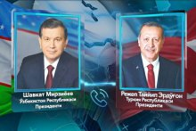 ON TELEPHONE CONVERSATION OF PRESIDENTS OF UZBEKISTAN AND TURKEY