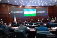 THE SPEED OF BRINGING THE ARMED FORCES OF UZBEKISTAN TO COMBAT READINESS TODAY IS 3 HOURS AGAINST THE PREVIOUS 5 DAYS