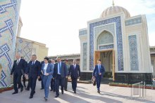 Minister of Defense of the Russian Federation got acquainted with historical monuments of Samarkand