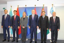 Uzbekistan delegation attended the Ministerial meeting in Brussels