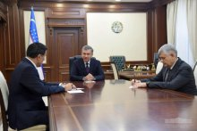 President of the Republic of Uzbekistan receives the newly appointed SCO Secretary-General