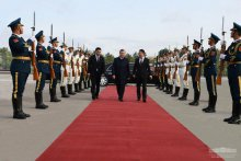 Shavkat Mirziyoyev completes visit to China and departs for Tashkent