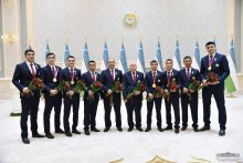 Shavkat Mirziyoyev: Our people are rightfully proud of their patriotic youth