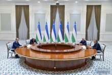 President of Uzbekistan receives Secretary of the Russian Federation Security Council