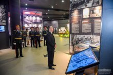 President visits the Museum of Glory in Victory Park