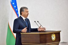 President Shavkat Mirziyoyev: we can't remain oblivious